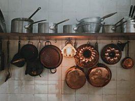 Potten en pannen voor de kookworkshop