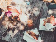 Picknicken met vrienden